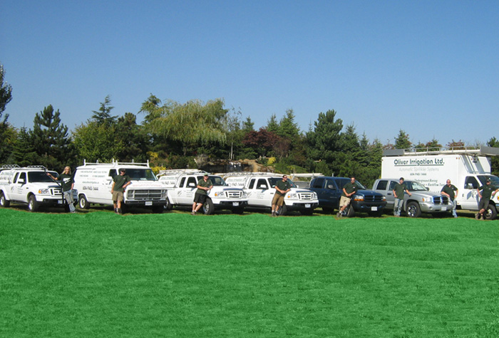 The Oliver Irrigation Crew & Fleet
